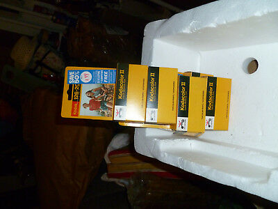 VINTAGE NOS Lot of 5 NEW  Expired 1977 Kodak 126-20 Film Cartridges Kodacolor 2
