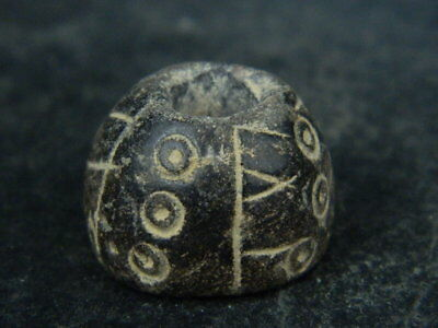Ancient Stone Bead/Spindle Whorl Gandharan/Gandhara 100 AD #STN5098