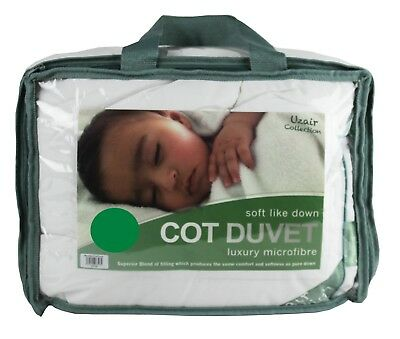 Microfibre Cot Duvet Anti Allergy Baby Quilt Nursery Toddler Junior Or Pillow