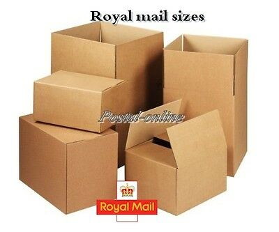 New Quality Single Wall Postal Mailing Cardboard Boxes Postal Removal Moving