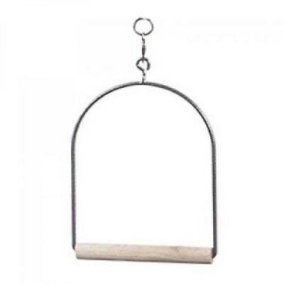Small Bird Cage Swing White - Budgie, Cockatiels, Conures, Senegals etc 4048