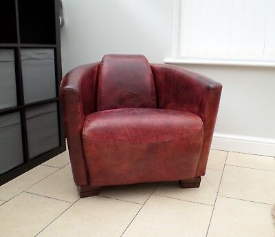 Tremendous Vintage Halo Living Timothy Oulton Aniline Leather Rocket Onthecornerstone Fun Painted Chair Ideas Images Onthecornerstoneorg