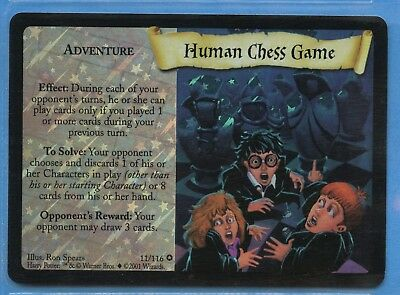 ☆ Harry Potter TCG: Base Set: Human Chess Game: FOIL: 11/116