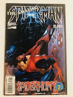 Amazing Spider-man #432, NM- 9.2, Black Tarantula, The Rose, Green Goblin