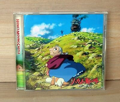 2004 Movie Soundtrack CD anime HOWL'S MOVING CASTLE Joe Hisaishi Wonder City VG