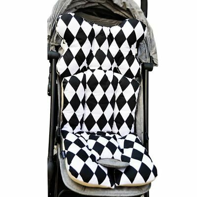 Baby Printed Stroller Pad Seat Warm Cushion Pad mattresses Pillow Cover Child P7