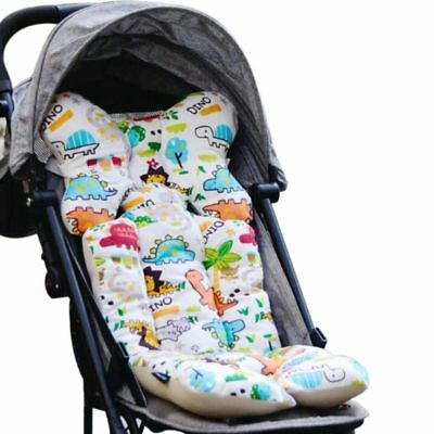 Baby Printed Stroller Pad Seat Warm Cushion Pad mattresses Pillow Cover Child D9