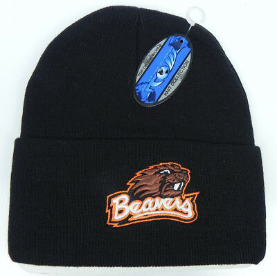 more photos dcaca 0ed34 Oregon State St. Beavers Black Osu Ncaa Beanie Top Of The World Knit Cap Hat