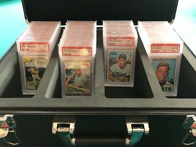 SOLD OUT! SOLD OUT!BLACKOUT EDITION DELUXE Graded Card Storage Boxes (PSA Only)