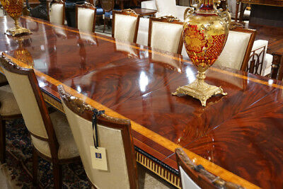 Spectacular Imported Hand Made   Dining Table Tripple Pedestal