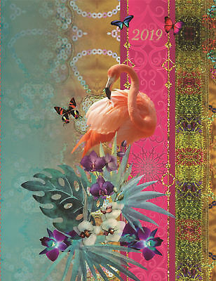 Paradiso - 2019 Premium Diary Planner A5 Padded Cover Christmas New Year Gift