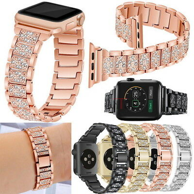 Stainless Steel Bracelet iWatch Band Strap For Apple Watch Series4 3 2 1 40/44mm