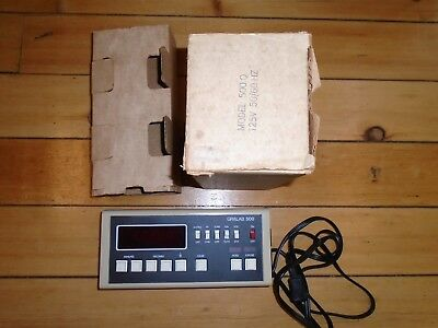 Gralab 500 Digital Darkroom Timer With Original Box Excellent Condition