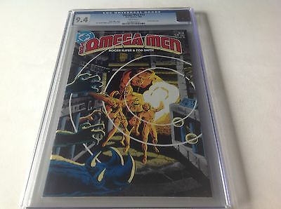 Omega Men 10 Cgc 9.4 White Pages 1St Full Lobo Mike Decarlo Tod Smith Dc Comics