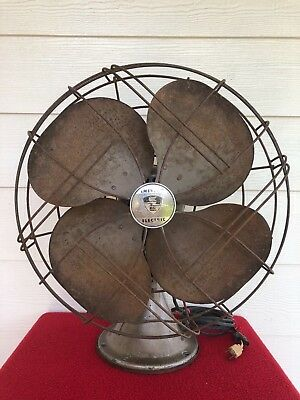 Vintage Emerson Electric Oscillating Fan Model 66748-TE  Free Domestic Shipping!