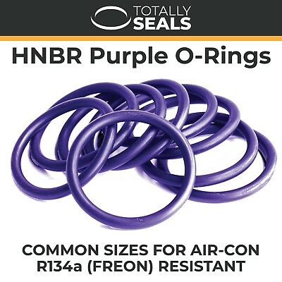HNBR Purple O-Rings for Air Conditioning - 70A Shore - R134a Resistant O-Ring