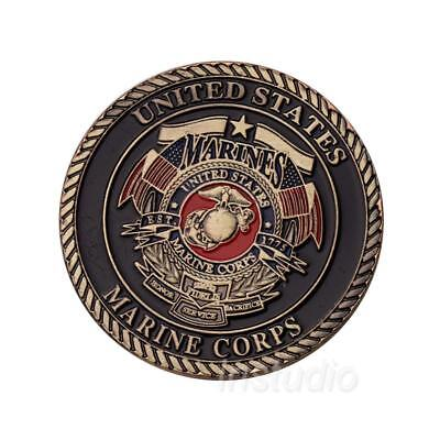 Hot 1pc Marines Devil Dog Commemorative Coin Collectible Nice Pop!
