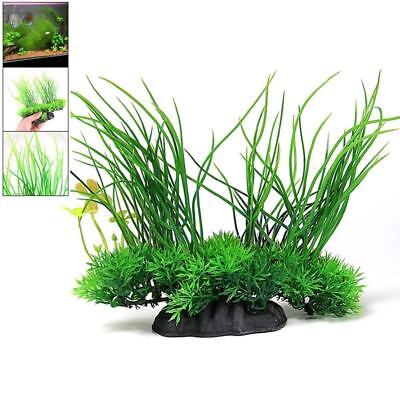 Artificial Fish Tank Green Plants Aquarium Tank Plastic GrassIY Plant PRO de