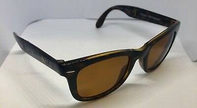 ce6bd1a4051 Authentic Ray Ban Folding Wayfarer RB4105 710 51 Polarized Sunglasses