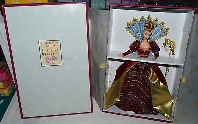 Nib-2000 Venetian Opulence Barbie Doll Masquerade Gala Collection With Ball Mask