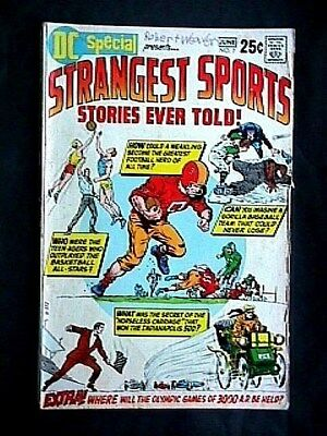 7 Strangest Sports Stories Ever Told 1970 Comic Book Collectible