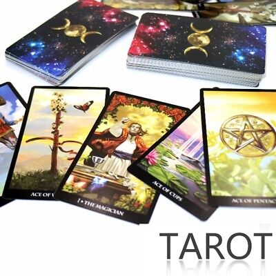 2018 new Tarot Deck cards, read the mythic fate divination for fortune card game