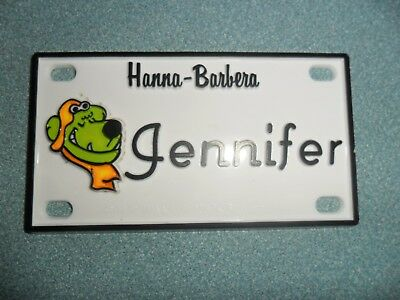 "Muttley of Scooby-Doo Name Plates or Door Signs circa 1972   About 4"" x 2"" x 1/8"