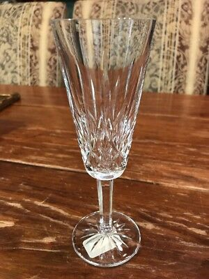 Lismore Champagne Flute by Waterford Crystal - 024258019874 7645391 NEW
