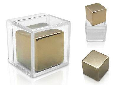 Large Neodymium Rare Earth 1 Inch Solid Cube Magnet Big Super Strong Fastener