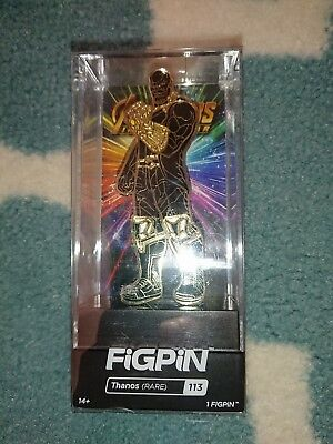 Thanos Rare FiGPiN #113 Chase Variant Hard to Find Marvel Infinity War