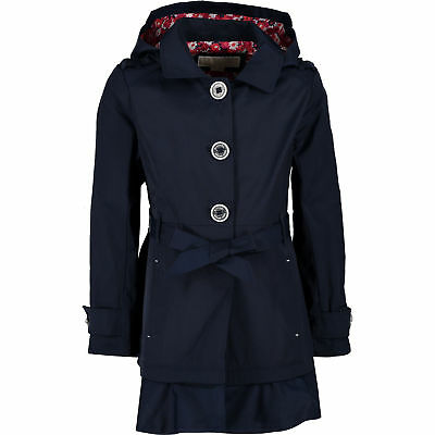 MICHAEL KORS Girls' Parka Jacket, True Navy, size 4 6 years