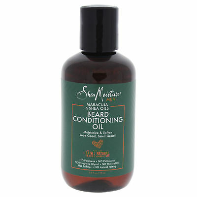 Shea Moisture Men Maracuja & Shea Oils Beard Conditioning Oil, 3.2 Oz, 1-Each