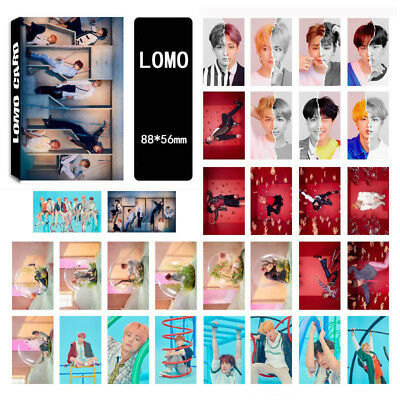 30pcs set Kpop BTS Love Yourself 结 Answer LOMOCARDS Bangtan Boys Lomo Card