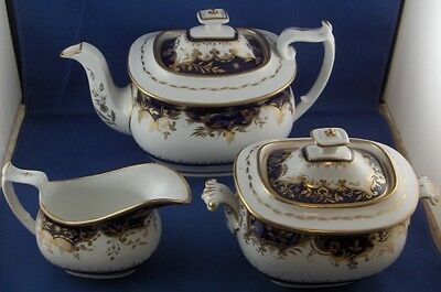 Antique 19thC Machin English Porcelain Breakfast Service Set England Dishes Cups