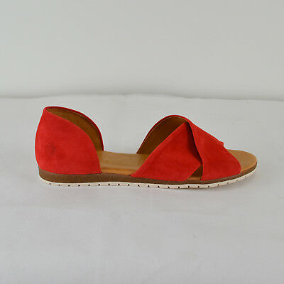 b00319bda9a95c APPLE OF EDEN Damen Sandale CHIUSI in Rot Coral Gr. 41 Neu - EUR 69 ...