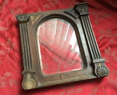 Front Arched Glass With Door For Large Bracket Clock Was Junghans