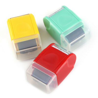 Mini Guard Your ID SelfInking Roller Stamp Messy Code Security Stationery Tool
