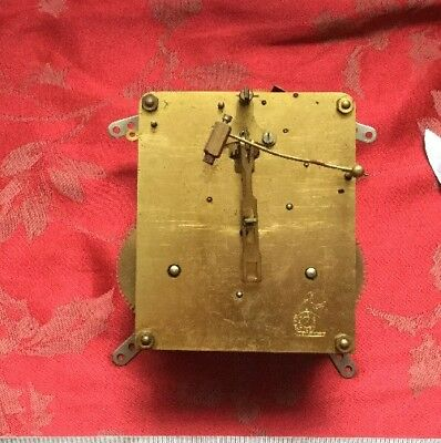 Perivale Clock Movement  Good Springs Etc Spares Or Repair