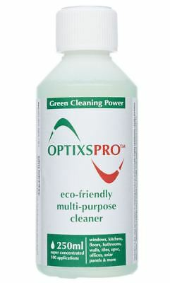 OptixsPro 250ml ECO Super Concentrated Cleaner for glass and hard surfaces