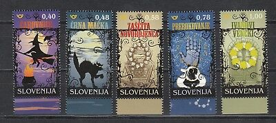 Slovenia Slovenien 2018  MNH** 2018-15 Superstition and Magic