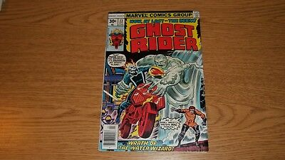 Ghost Rider Marvel Comics 1973 Series #23 Bronze Kirby Cover/champions
