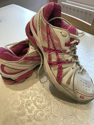 Asics Gel Netburner Super 4 Womens Netball Trainers UK Size 7