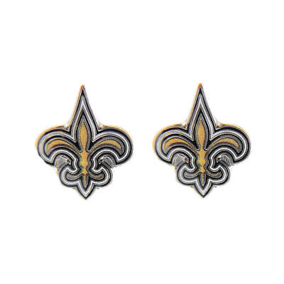 New Orleans Saints Earrings NFL Post Earring Stud