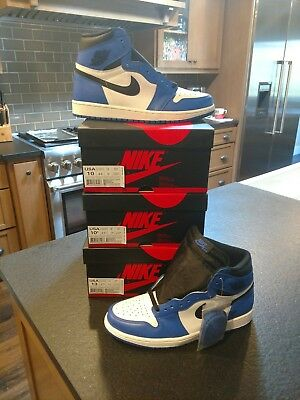 NEW DS 2018 Nike Air Jordan 1 Retro High OG Game Royal 555088-403 size 1f371974e