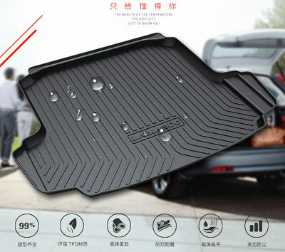 Suitable for Toyota Corolla 2008-2018 Special waterproof trunk mat TPO