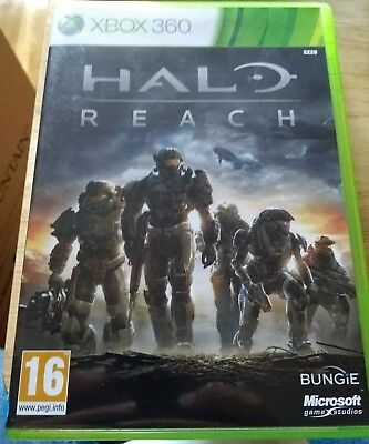 Xbox Halo Reach Xbox 360 Instructions Manual Included Vgc 299