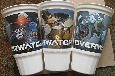 taco bell overwatch collectible cup bundle winston soldier 76 tracer