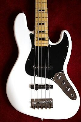 Fender Squier Vintage Modified Jazz Bass V 5 String Electric Bass Guitar
