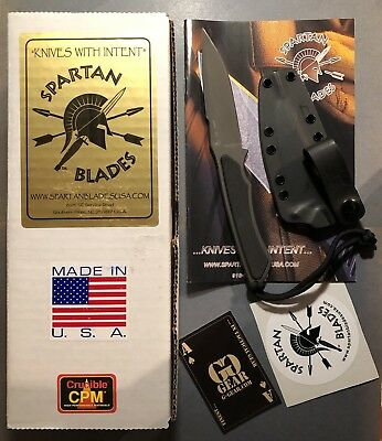 Spartan Blades / Phrike / black / G10 / s35VN / Inkl. Kydex / Made In USA / OVP