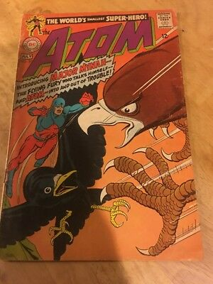 Atom #37, SA 1967, from DC Comics!! 12 cent Cover! Save on Ship, See Inside!